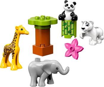 Конструктор Lego DUPLO Town 10904 Детишки животных