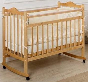 Детская кроватка Everflo Pali caramel ES-001 ПП100004294