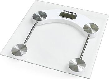 Весы напольные GoodHelper BS-S51 прозрачное стекло goodhelper bs s40 розовый