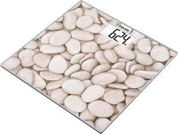 лучшая цена Весы напольные Beurer GS 203 Stones