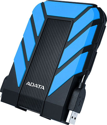 Фото - Внешний жесткий диск (HDD) A-DATA USB 3.0 1Tb AHD710P-1TU31-CBL HD710Pro DashDrive Durable 2.5'' синий adata hd650 dashdrive durable 1tb 2 5 синий
