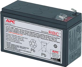 Батарея для ИБП APC RBC2 12В 7Ач для Back-UPS/Smart-UPS батарея для ибп apc rbc2 12в 7ач