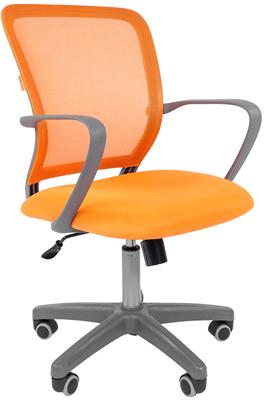 Офисное кресло Chairman 698 TW оранжевый 00-07022344 цена и фото