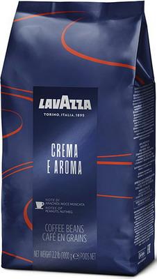 цена Кофе зерновой Lavazza Crema e Aroma Espresso Bag 1кг онлайн в 2017 году