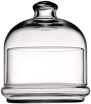 лимонница с крышкой pasabahce basic 10см стекло 98397 Емкость с крышкой Pasabahce BASIC d=110 мм