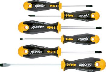 Набор отверток Felo Ergonic 6 шт в упаковке 40096118