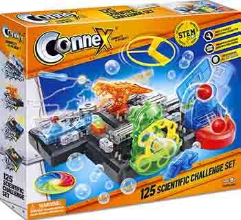 Набор научно-игровой Amazing Toys Connex: 125 научных экспериментов (38913) 1CSC20003908 набор amazing toys connex 32038 игрушка рисовальщик электронный конструктор 1csc 20003409