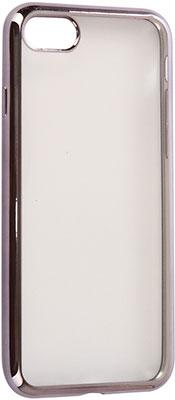 Фото - Чехол (клип-кейс) Eva для Apple iPhone 7/8 - Прозрачный/Черный (IP8A010B-7) чехол для сотового телефона nibk khabib nurmagomedov для iphone 7 8 черный