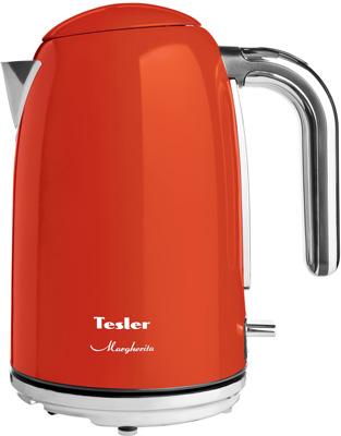 Фото - Чайник электрический TESLER KT-1755 ORANGE чайник tesler kt 1755 red
