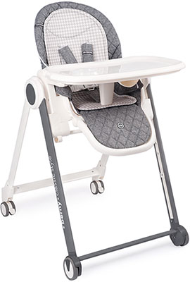 Стульчик для кормления Happy Baby BERNY BASIC DARK GREY стул для кормления happy baby berny basic beige