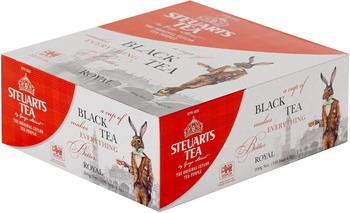 Чай черный Steuarts Black Tea Royal 100 пак. чай richard чай зелёный royal green 25 пак