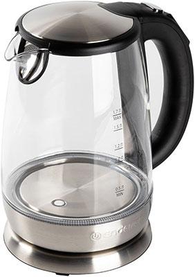 Чайник электрический Endever Skyline KR-331G стальной/черный