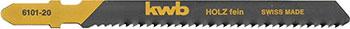 Фото - Пилки для лобзика Kwb Kwb TE111H 2 шт. 6101-20 сумка для инструмента kwb одинарная 21х19х8см