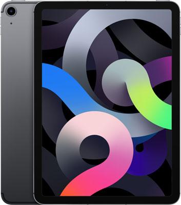 Планшет Apple 10 9-inch iPad Air (2020) Wi-Fii & Cellular 64 GB серый космос (MYGW2RU/A) планшет apple 10 9 inch ipad air 2020 wi fii