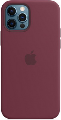 Чеxол (клип-кейс) Apple iPhone 12 | Pro Silicone Case with MagSafe - Plum MHL23ZE/A