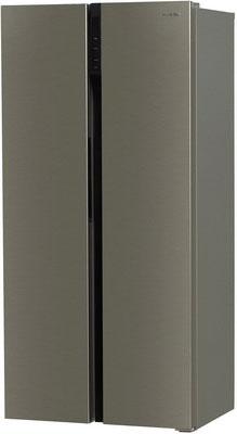Холодильник Side by Side Hyundai CS4505F нержавеющая сталь