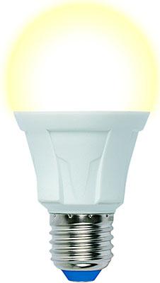 Фото - Лампа Uniel LED-A60-13W/3000K/E27/FR PLP01WH Форма «А» матовая (3000K) 005030 светодиодная лампа светильник uniel led u270 60w 3000k e27 fr plu01wh
