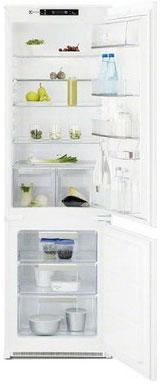 Встраиваемый двухкамерный холодильник Electrolux ENN 92803 CW двухкамерный холодильник electrolux en 3452 jow