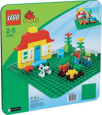 Конструктор Lego Duplo Строительная пластина (38х38) 2304