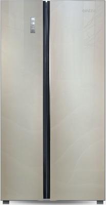 Холодильник Side by Side Ginzzu NFK-530 шампань холодильник side by side ginzzu nfk 530 черный