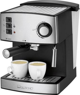 лучшая цена Кофеварка Clatronic ES 3643 schwarz-inox
