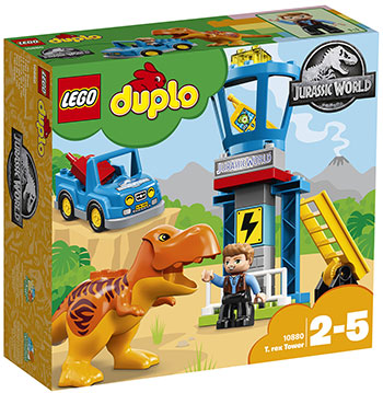Конструктор Lego Башня Ти-Рекса 10880 цены онлайн
