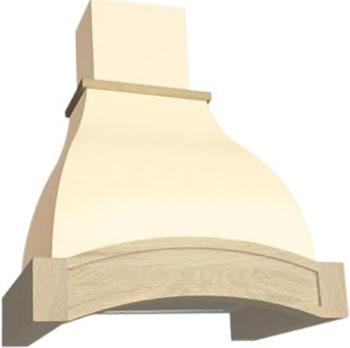 Вытяжка ELIKOR Аркада 60П-650-П3Д белый муар/дуб неокрашенный цена и фото