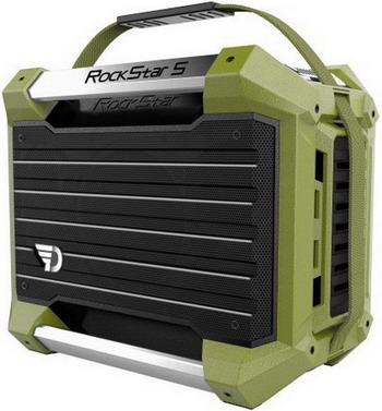 Портативная акустика DreamWave Rockstar S green недорого