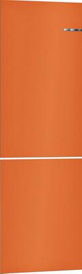 Навесная панель на двухкамерный холодильник Bosch VarioStyle KGN 39 IJ 3 AR со сменной панелью Цвет: Оранжевый навесная панель на двухкамерный холодильник bosch variostyle цвет жемчужно белый