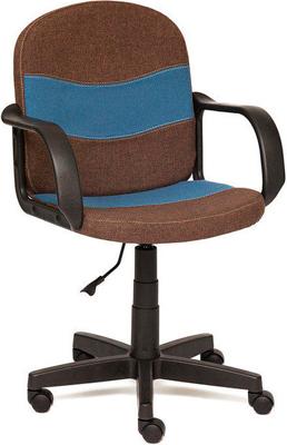 Офисное кресло Tetchair BAGGI (ткань коричневый/синий 3М7-147/С24) кресло tetchair baggi ткань серый синий с27 с24