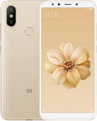 Смартфон Xiaomi Mi A2 4/64Gb золотой смартфон xiaomi mi a2 64gb gold