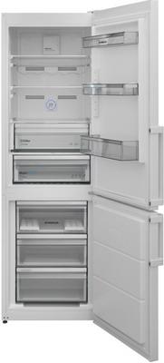 лучшая цена Двухкамерный холодильник Scandilux CNF 341 EZ W White