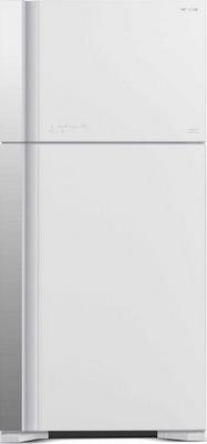 Двухкамерный холодильник Hitachi R-VG 662 PU3 GPW белое стекло