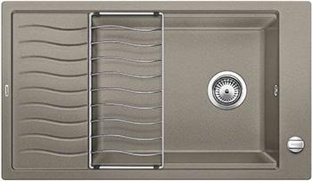 Кухонная мойка Blanco ELON XL 8 S серый беж inFino 524867 кухонная мойка blanco elon xl 8 s жемчужный infino 524863