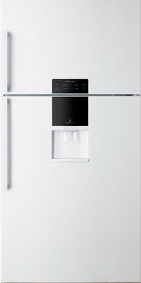 цена на Двухкамерный холодильник Daewoo FGK 56 WFG белый