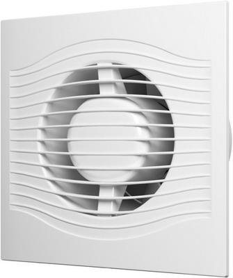Вентилятор вытяжной с обратным клапаном и шнуровым тяговым выключателем DiCiTi SLIM 6C-02 цена