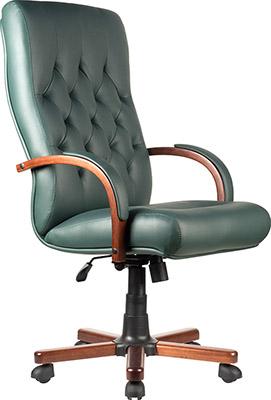 Кресло Riva Chair М 175 A Laguna Тай Зелёная кожа