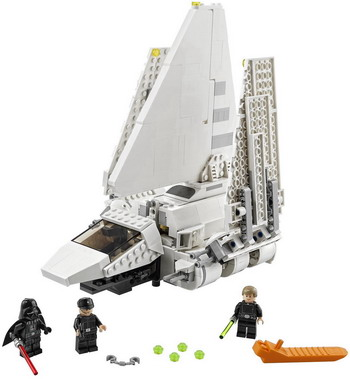 Фото - Конструктор Lego STAR WARS ''Имперский шаттл'' 75302 lego star wars книга идей