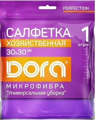 Для ручной очистки поверхностей Dora Салфетка из микрофибры ''Универсальная''