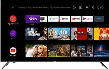 Фото - 4K (UHD) телевизор Haier 65 Smart TV MX led телевизор haier 32 smart tv bx
