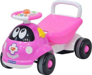 Детская каталка Everflo Ambulance ЕС-909 pink everflo каталка everflo машинка smart car m001 pink