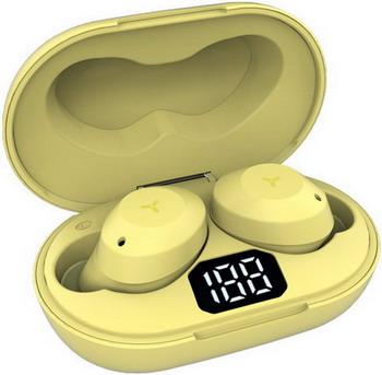 Фото - Вставные наушники Accesstyle Fox TWS Yellow наушники harper hb 308 yellow