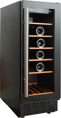 Встраиваемый винный шкаф Cold Vine C 18-KBT1 черный