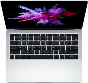 Ноутбук Apple MacBook Pro 13 with Retina display Mid 2017 (MPXR2RU/A) серебристый ноутбук apple macbook mid 2017 12 mrqn2 ru a 1 2 ггц 8 гб 256 гб ssd intel hd 615 золотой