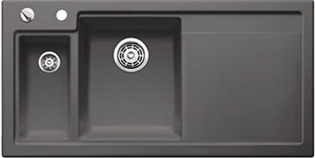 Кухонная мойка BLANCO 524148 AXON II 6 S (чаша слева) керамика базальт PuraPlus с кл.-авт. InFino axon c 105