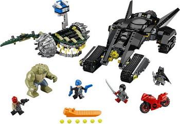 Конструктор Lego SUPER HEROES Бэтмен: Убийца Крок 76055 цена и фото