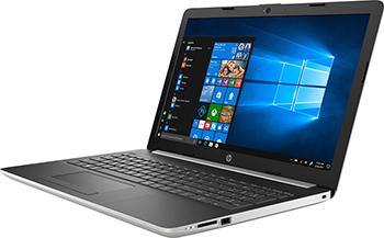 Ноутбук HP 15-da 0148 ur (4JX 70 EA) i3-7020 U Natural Silver цена и фото