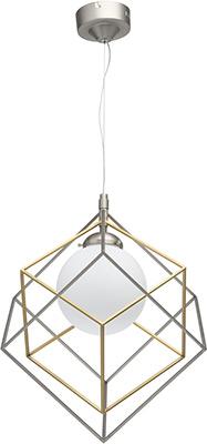 Люстра подвесная DeMarkt Призма 726010201 1*10 W LED 220 V цена