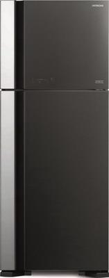Двухкамерный холодильник Hitachi R-VG 542 PU7 GGR серое стекло цена и фото