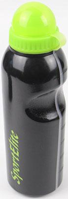 Бутылка спортивная SPORT ELIT 750 мл черный/салатовый В-310 емкость для продуктов giaretti браво цвет салатовый прозрачный 750 мл gr1033